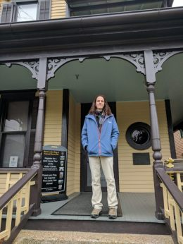 Dr. Cragun at Martin Luther King Jr.'s childhood home