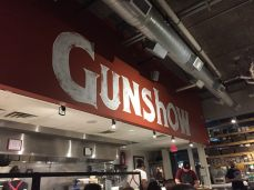 dinner at Gunshow