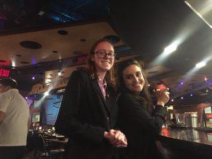 Ioana Zanchi and friends in Boston, MA